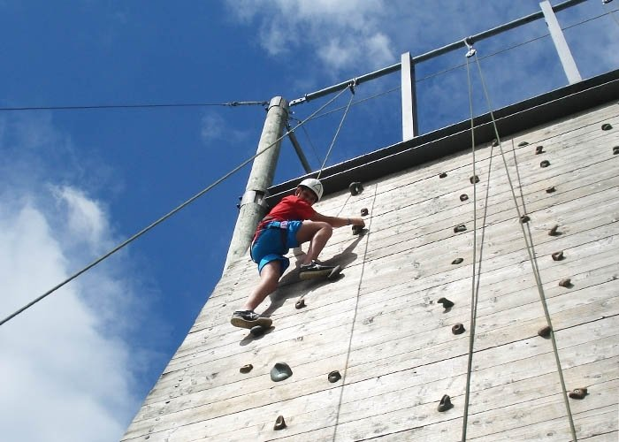 climbing wall dumfries and galloway
