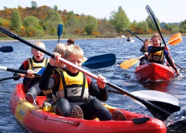 Canoe Kids Group Activities