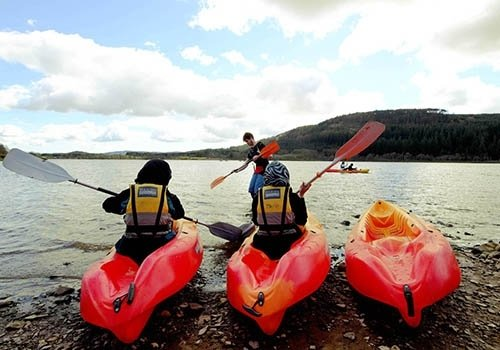 kayaking loch ken