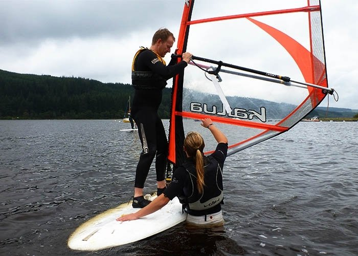 windsurfing tuition scotland