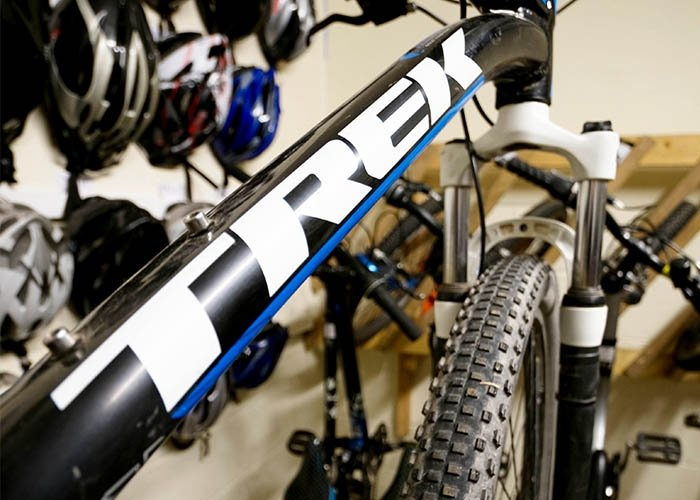 mountain biking trips equipment
