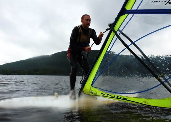 windsurfing beginner