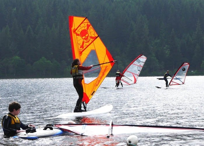 windsurfing taster session beginner