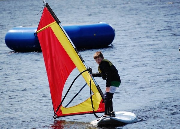 windsurfing lessons dumfries and galloway