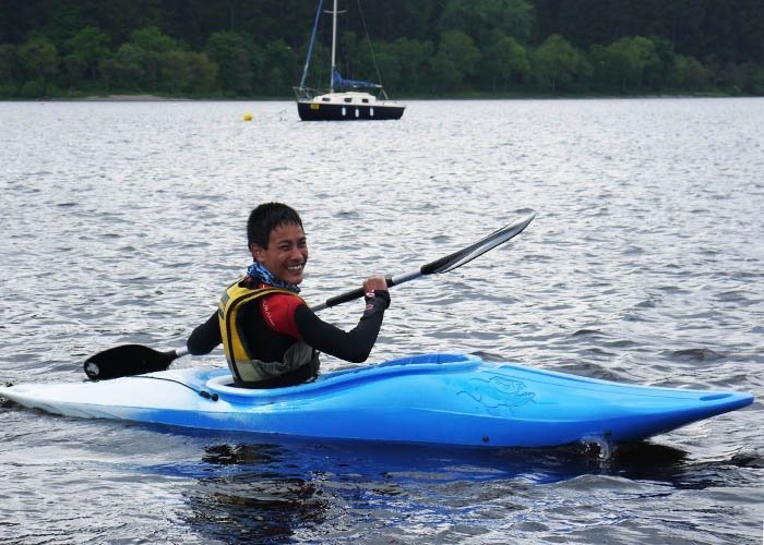kayak tuition loch ken