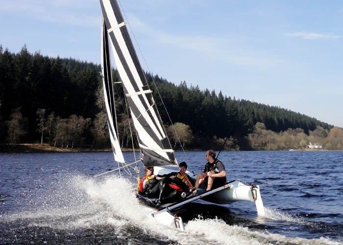 advanced sailing courses dumfries and galloway