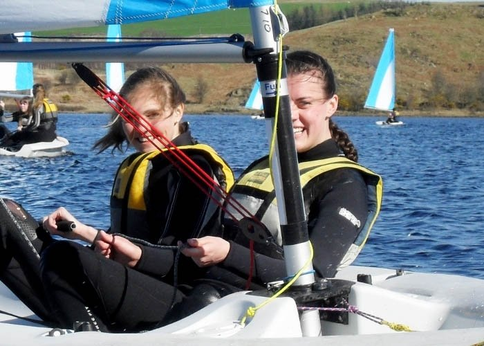 rya sailing courses dumfries and galloway
