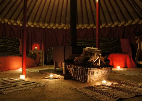 adventure holidays yurt
