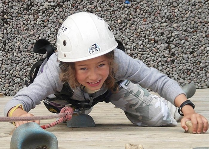 youth club climbing