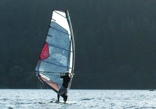 windsurf hire loch ken