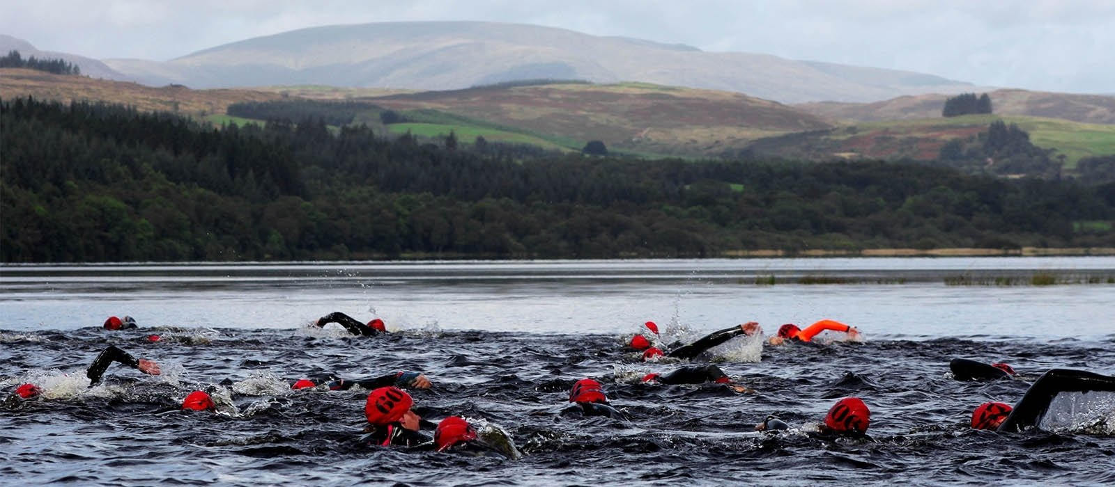 Swimming in Loch Ken